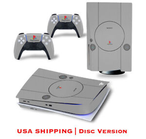 New PlayStation 5 Disc Skin Decal Vinyl Cover For Console And Controllers PS5
