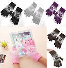 Women Men Touch Screen Soft Wool Winter Gloves Warmer Smartphone Mobile Phone