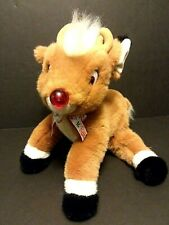 "RUDOLPH THE RED NOSE REINDEER 15"" PLUSH STUFFED ANIMAL 1999-Free Shipping"