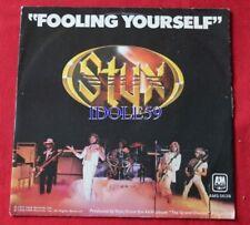Disques vinyles singles styx
