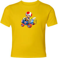 Nintendo Super Mario Kart Toad Unisex Men Women Family Racing Video Game T-Shirt