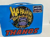 NEW Thanos Metal Lunch Box Marvel Avengers VIP Infinity War Fan Expo Dallas 2018