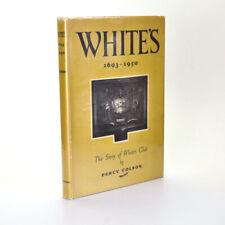 White's 1693-1959: COLSON Percy 1951 Reprint  Very Good