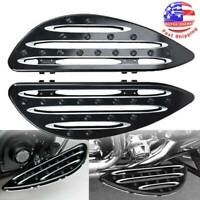 Driver Stretched Floorboards Foot Board For Harley Electra Glide FLHTC Classic A