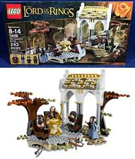 New THE COUNCIL OF ELROND Lego 79006 LORD OF THE RINGS 4 Minifigures GIMLI Arwen