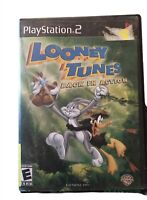 PS2 Looney Tunes Back In Action (Sony PlayStation 2, 2003) Complete W/Manual