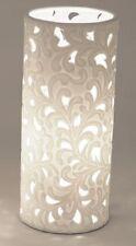 662408 Lámpara Armonía Romántico 12 x 28cm blanco nuevo