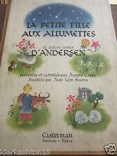 la petite fille aux allumettes & autres contes d'Andersen Cappe-Huens/ Casterman