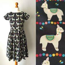 Robe imprimée multicolores coton pour femme