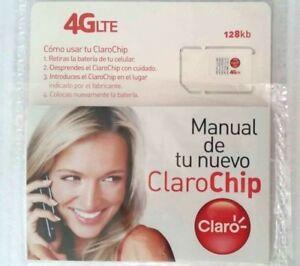 Claro PR phones $30 Plan Preloaded Sim Card 1 Month  Unactivated Unlimited data