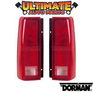 Tail Light Lamp (Left and Right Set) for 85-05 Chevy Astro Van