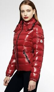 Moncler Women's Red Bady Padded Jacket Goose Authentic Tag  Sz 0