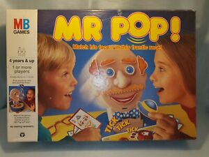 MB Mr Pop Frantic Matching Features Race Game Vintage Classic 1993 Family Fun