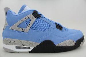 [CT8527-400] Nike Air Jordan IV 4 Retro University Blue/Black Men's