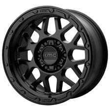 New Listing20 Inch Matte Black Rims Wheels Kmc Grenade Or 20x9 Set 4 Km535 6x55 Lug 18mm