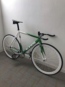 Cinelli Mash Bolt 53cm Track Bike Apple Green