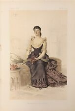 Original Vanity Fair Print 1884 'The Marchioness Of Tweeddale- Royalty/Ladies