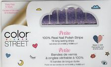 COLOR STREET Nail Strips Achieve Grapeness Petite 100% Nail Polish - USA Made!