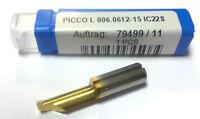 VHM - Mini - Bohrstange PICCO  L 006 0612 15   IC228  von Iscar  Neu    H848