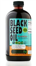100% Pure Cold-Pressed Black Seed Oil 16 oz.Glass bottle