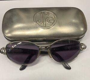 Jean Paul Gaultier 56 - 6105 Vintage Gunmetal Sunglasses With case