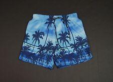 TOMMY HILFIGER Men Palm Tree Print Swim Trunk Shorts NEW NWT