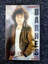 JIMMY BARNES Take One the Videos Mushroom Records PAL VHS Clamshell Video