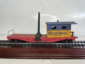 Vintage Ho Scale Model trains Chessie System Work Caboose Ready To Run No 6012