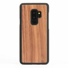 Snakehive Samsung Galaxy S9 Plus Natural Real Wood Back Case Phone Cover