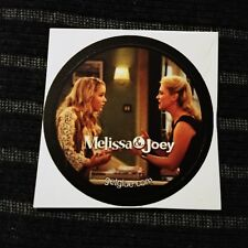 "MELISSA & JOEY TAYLOR LENNOX MJH PHOTO TV SMALL 1.5"" GETGLUE GET GLUE STICKER"