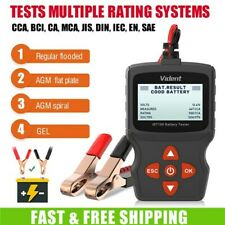 12V Car Auto Battery Load Tester Charging System Cranking Diagnostic Scan Tool