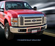 Fits 2008-2010 Ford F250 F350 F450 F550 Billet Grille Grill Bumper