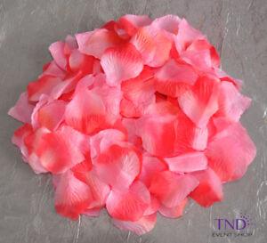 400/1200/2000 PCS ROSE FLOWER PETALS WEDDING PARTY TABLE FLORAL CONFETTI