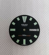 SEIKO AFTERMARKET BLACK DIAL WITH LUMINOUS HOUR MARKERS FOR 6309-7290  DIVERS