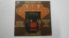 ABBA THE BEST OF ABBA RARE LP record INDIA INDIAN 10 VG+