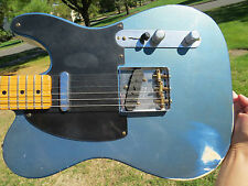 Fender Custom Shop Lake Placid Blue Nocaster 1951 Reissue Roadshow 2011 ABBY P/U