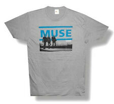 "MUSE - ""RESISTANCE""  GREY T-SHIRT - NEW ADULT SMALL S"