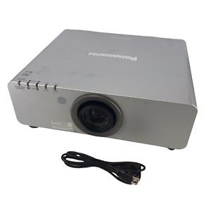 Panasonic Model PT-DW6300US PT-DW6300 DLP Silver Projector 6000 Lumens - READ