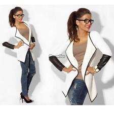 Women �� Long Sleeve Casual Knitted Cardigan Sweater Coat Outwear Knitwear Jacket Dark Gray Asian M (us S(6) UK 8 AU 10)