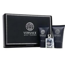 Versace Pour Homme Mini Set 5ml EDT +25 Shampoo+25ml Aftershave Balm Travel