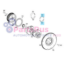 Genuine Smart Fortwo Rolling Bearing Axial Thrust Bearing 1329810018