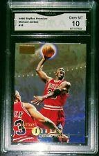 Michael Jordan 1996 Skybox Premium Gold Foil Gem Mint 10 RARE Lot + RC