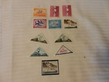 Lot of 11 San Marino Sports Stamps from 1963, 1964 MNH