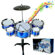 Boy Girl Kids Percussion Musical Instrument Jazz Drum Set Toys Music Band  HSE