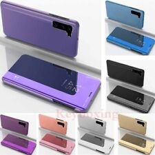 For OnePlus Nord 6 7 7T 8 Pro Smart Clear Mirror Leather Stand Flip Case Cover