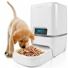 SereneLife Automatic Pet Cat & Dog Feeder, Digital Food Dispenser w Voice Record