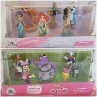 Disney Store Princess Minnie's Happy Helpers Figurine 6 Figure Playset