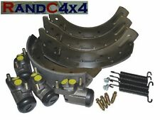 6044 Land Rover Series 3 SWB LWB Front Brake Shoe & Wheel Cylinders Kit '80 on