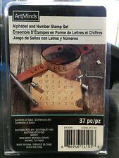 New listing ArtMinds Alphabet and Number Stamp Set