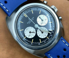 Gorgeous 1960s Vintage Breitling Geneve Stainless Chronograph Watch ~Serviced~